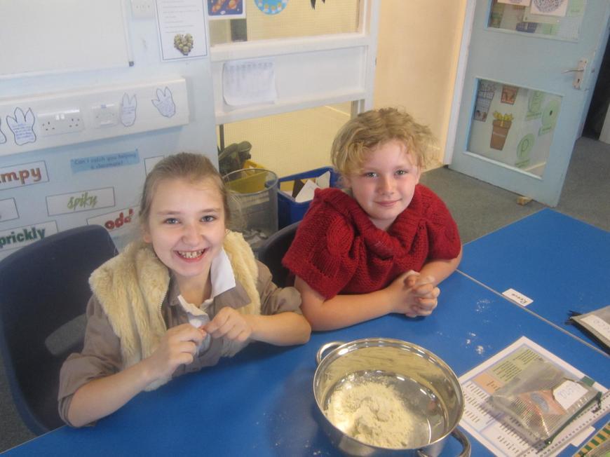 Making Viking bread!