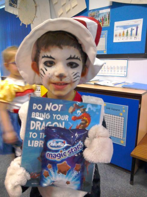 Our world book Day class winner