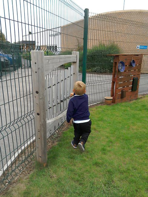 Investigating ouside sounds