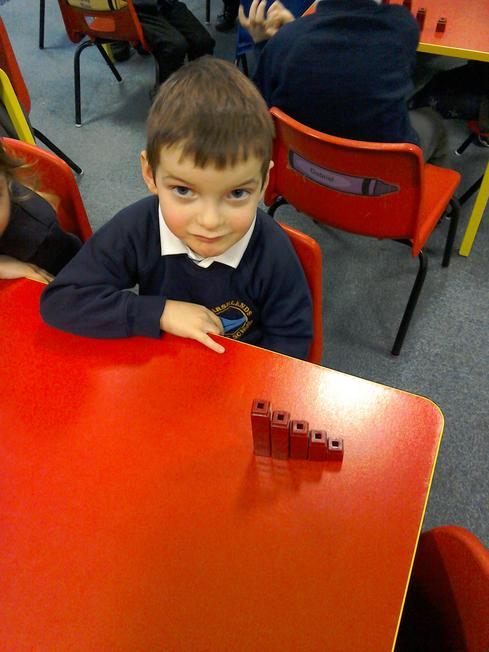 Ordering our number blocks