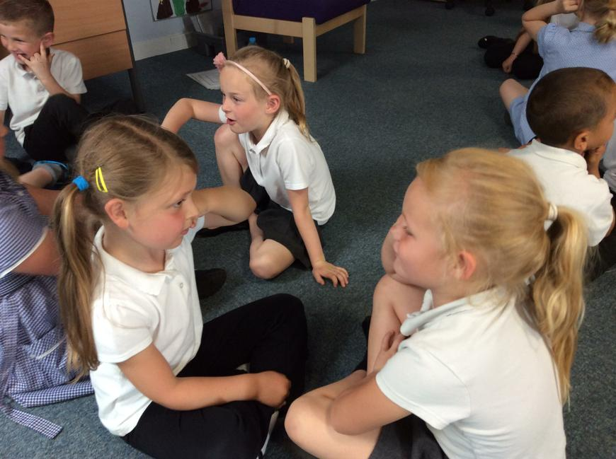 Then we practised making calls in pairs.