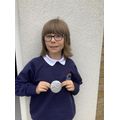 The children created their own Anglo-Saxon Brooches, creating intricate designs.