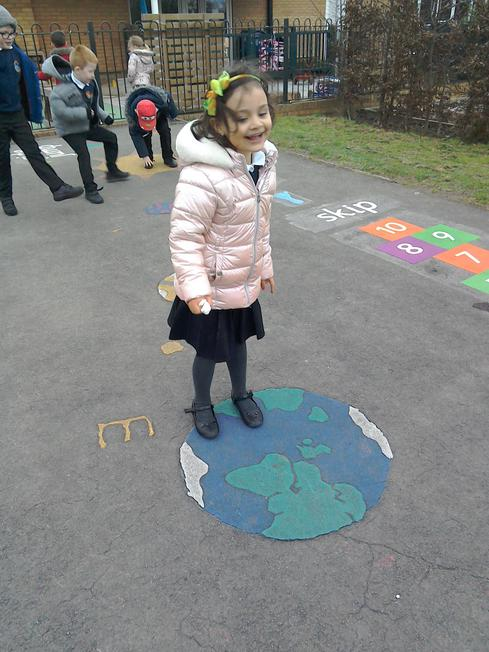 On the KS1 playground for more fun!
