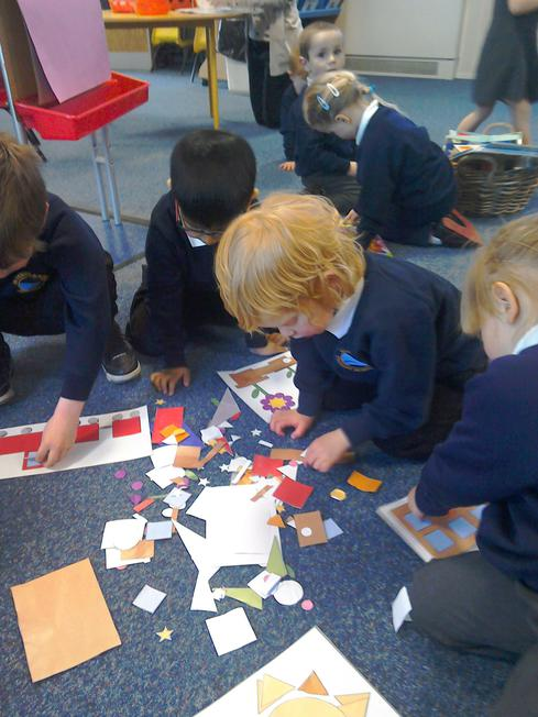 Making shape pictures