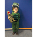 A Dinosaur from Harry and his bucket full of Dinos