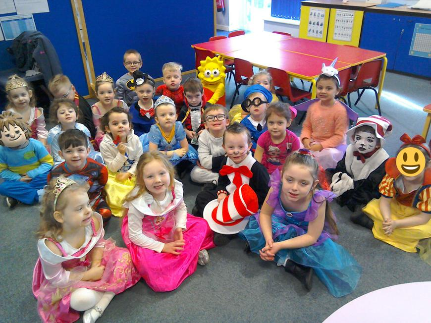World book Day! Fantastic costumes