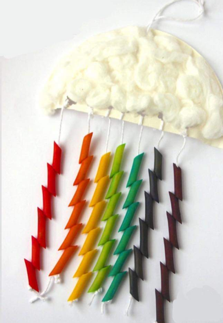 pasta rainbow cloud