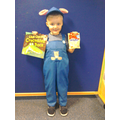 Our World Book Day winner - Mr Pig!