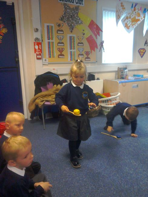 Sports day practice