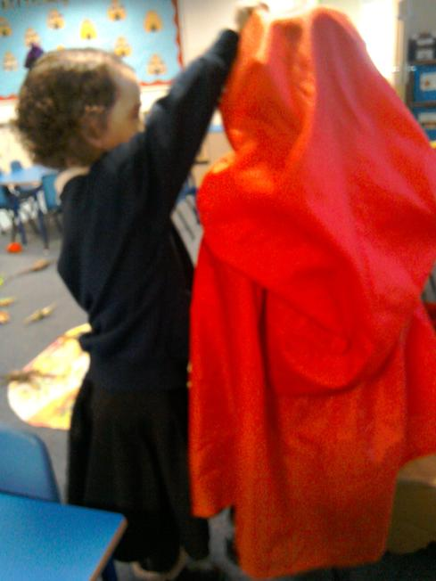 Role play - our t4w book little red riding hood