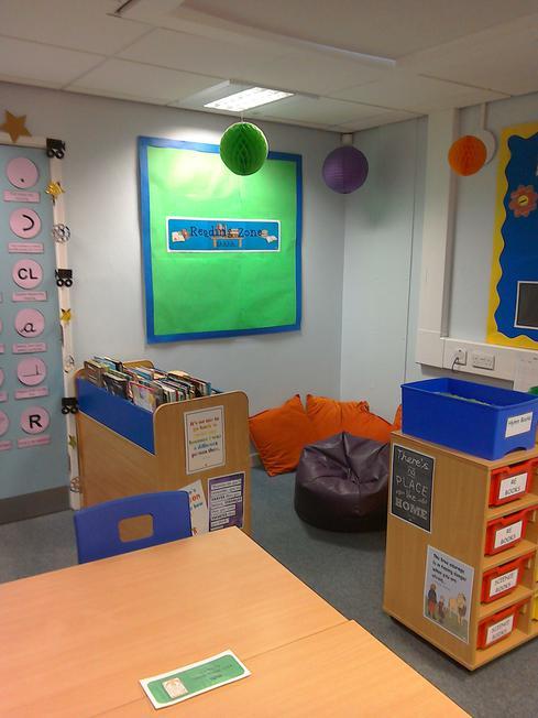 Our reading area (so far)