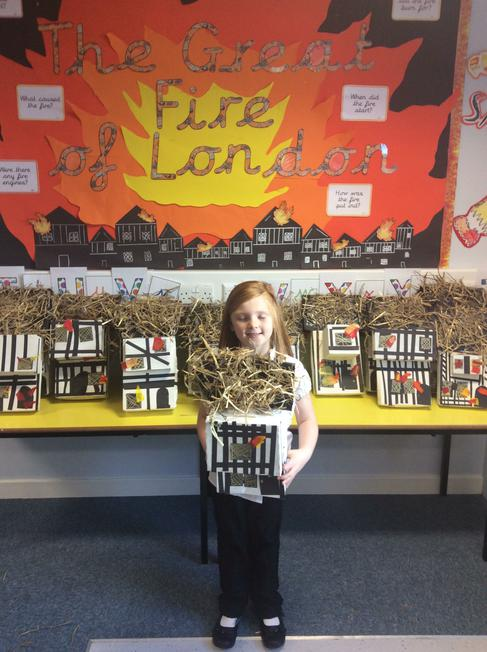 Here are our finished houses.