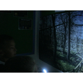 Some spooky pictures appeared in the classroom...