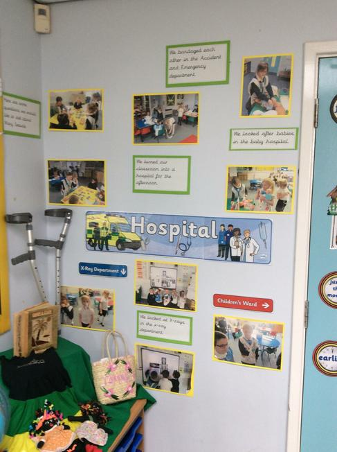 Our wow day- hospital role play