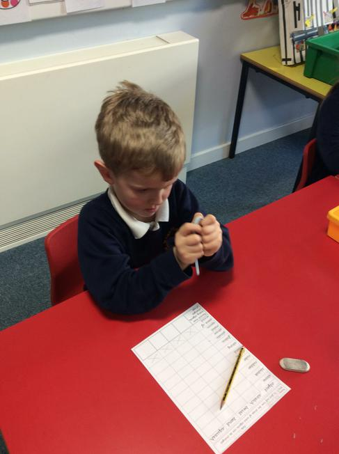 We investigated which materials can be...