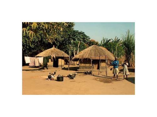 An African village
