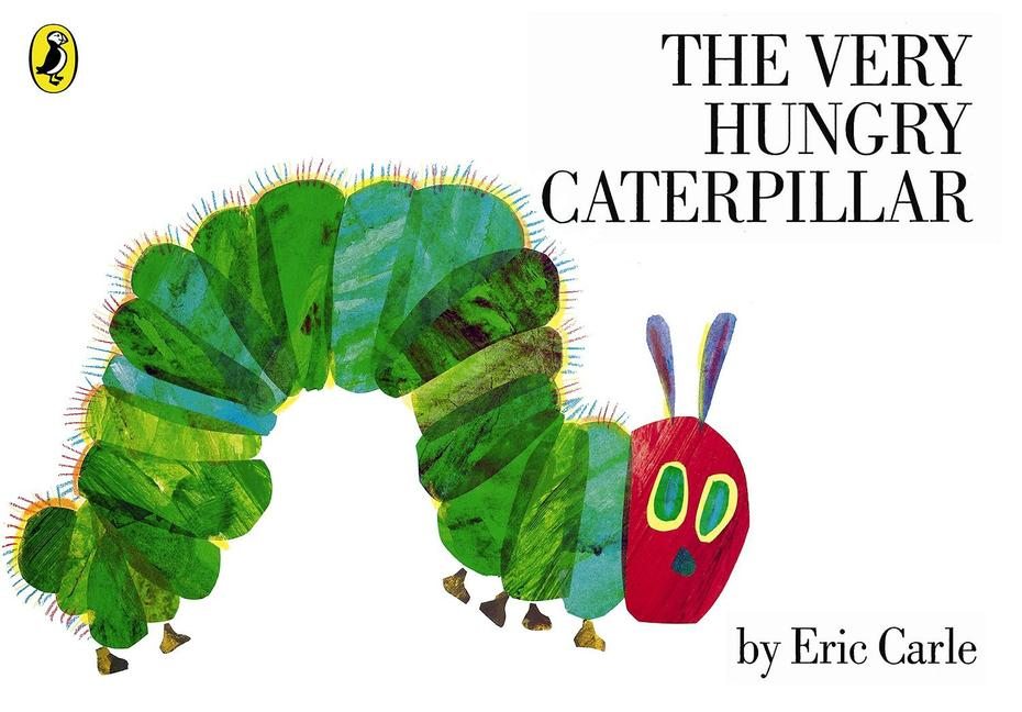 The Very Hungry caterpillar starts as a tiny egg.
