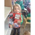 Carter found a WW2 book