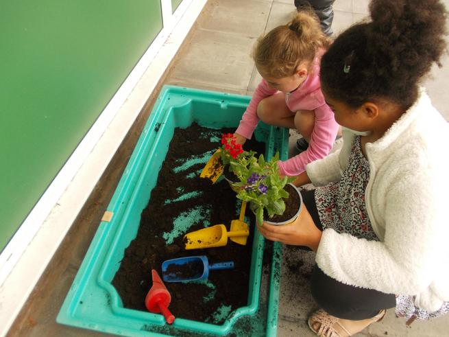 Gardening at The Holiday Club