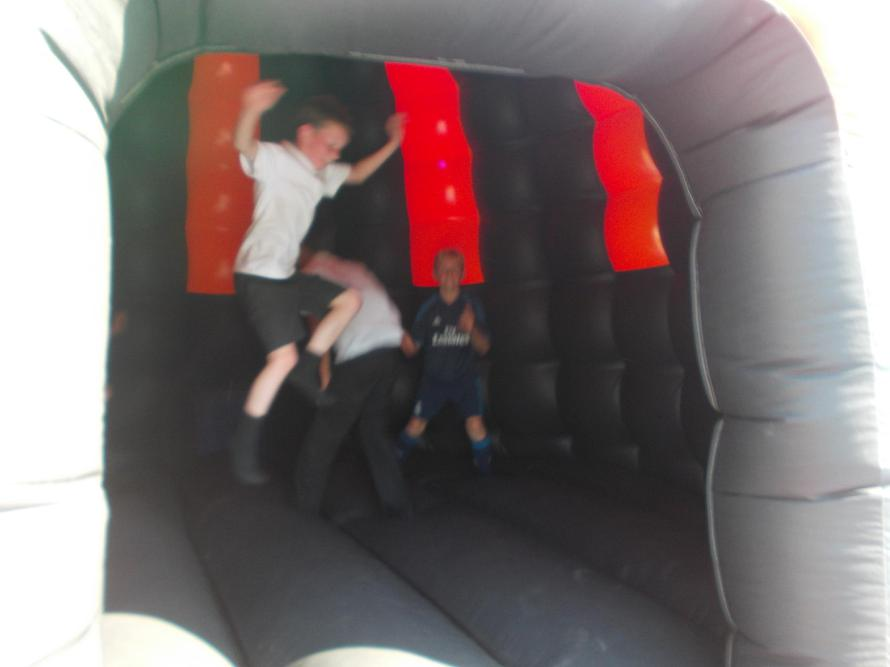 Bounching in the Disco Dome
