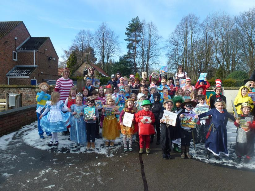 Marwood School celebrates World Book Day