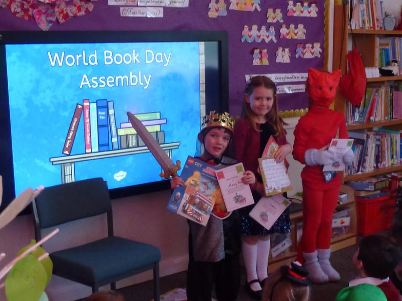 World Book Day Reading Competition Winners