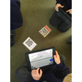 Using QR codes to access online thesaurus