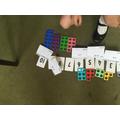 Matching numerals, shapes and words
