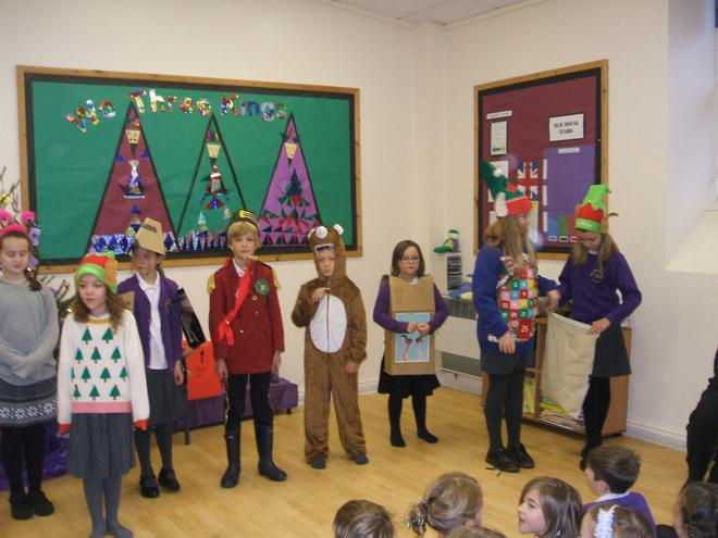 Our Drama Club's excellent Christmas production