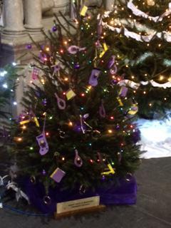 Our Christmas tree at St. Eustachius' Church