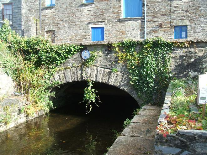 The start of the Canal