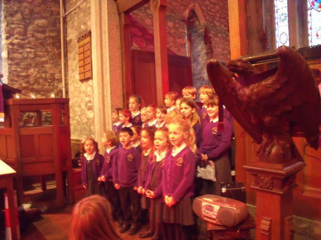 Class 2 sang Christmas Calyps