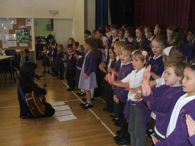Singing our mining songs