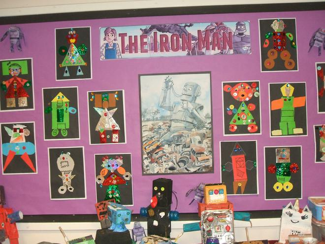 Our Iron Man Collages