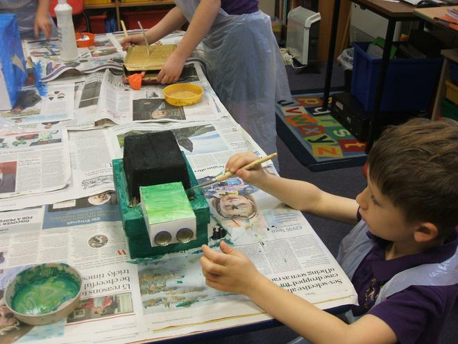 Painting our models