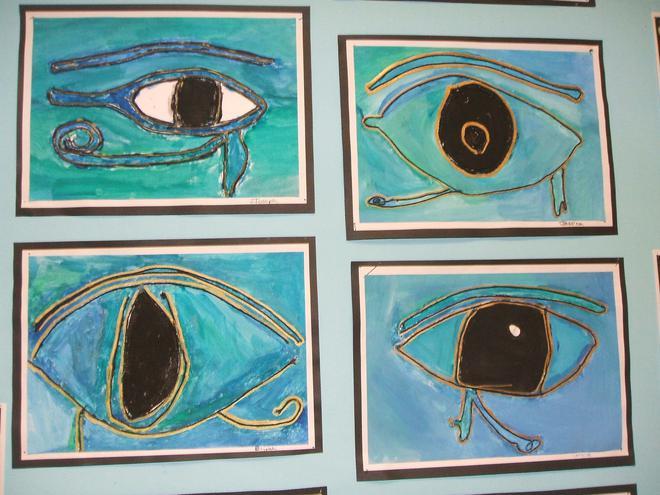 Eye of Horus artwork
