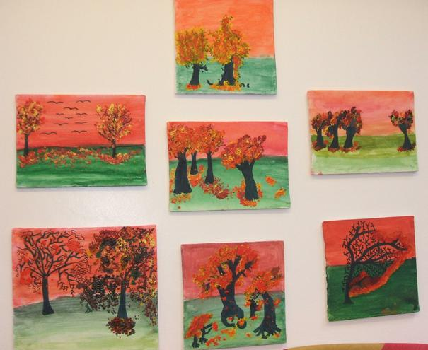 Our finished paintings