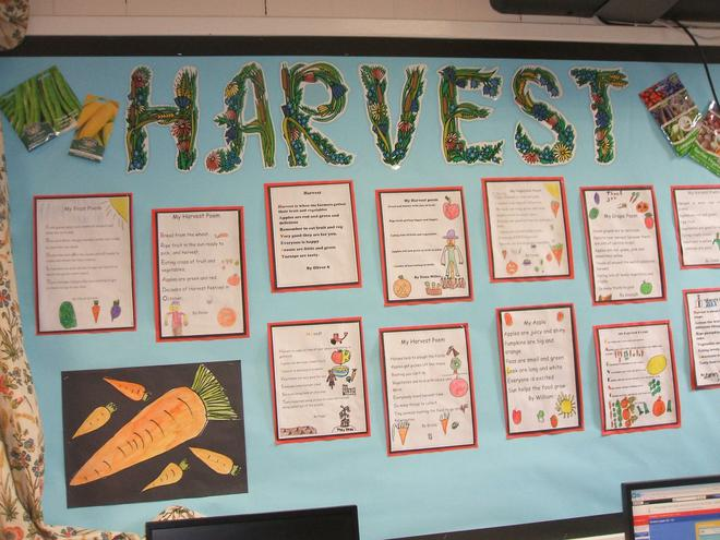 Our Harvest Display