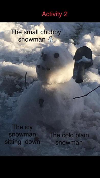 Teiyana's Snowman