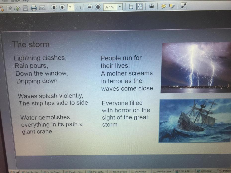 Patricia's poem
