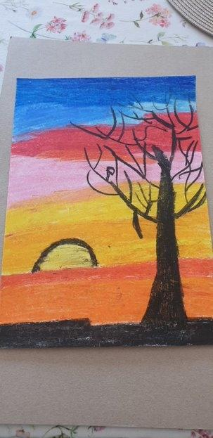 Oil Pastel by Max