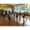 Year 5 had a go at traditional Indian dance