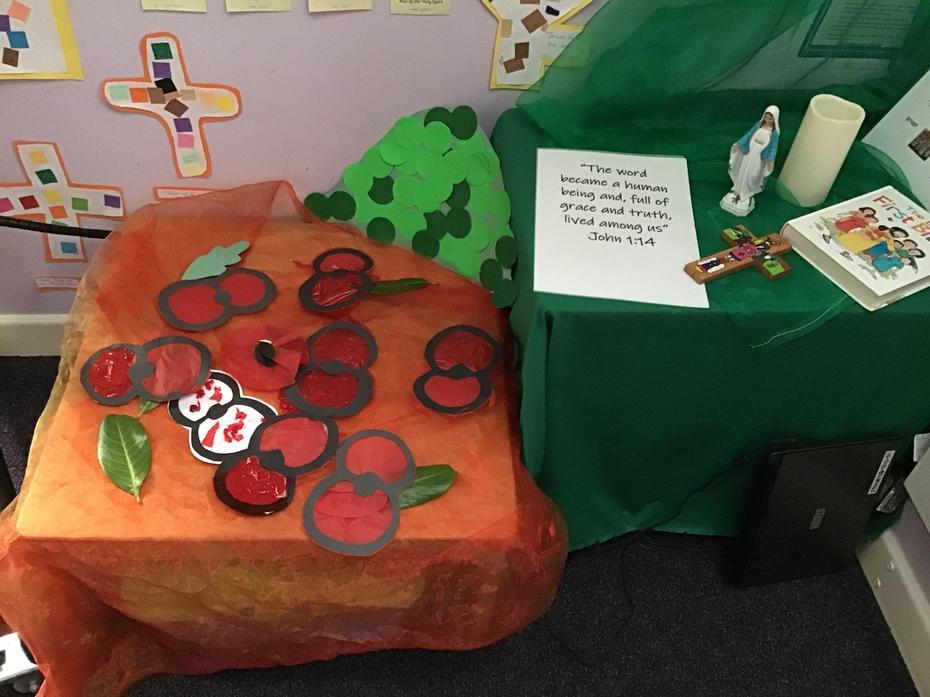 Reception's Poppy Prayers