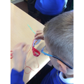 Sewing Christmas Stockings in Year 3