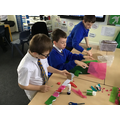 Making Anderson shelters in Year 6