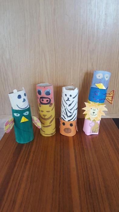 Albert's Totem Poles