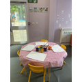 We love painting and getting creative in Early Years.