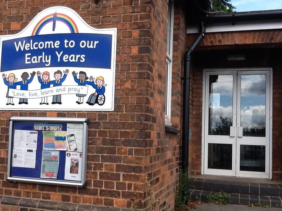 Our EYFS entrance