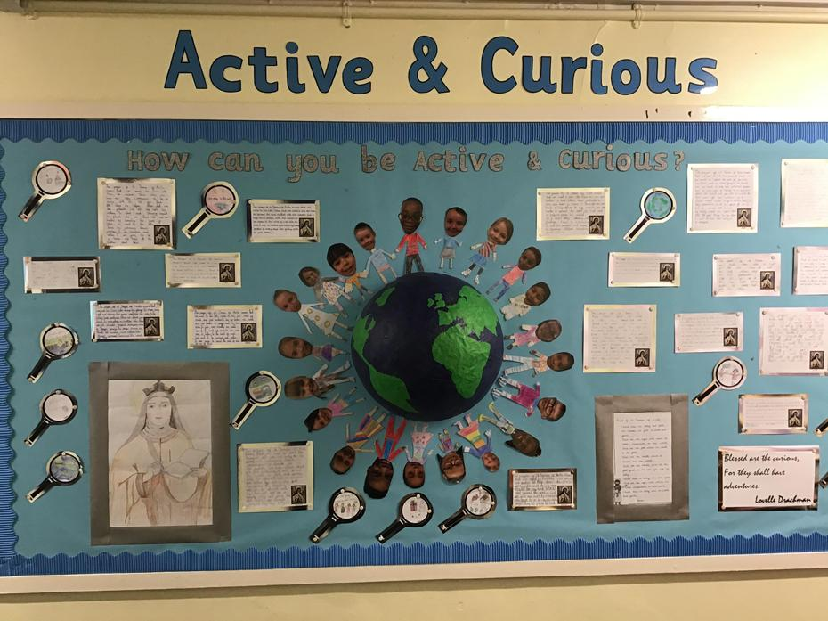 Year Four's display