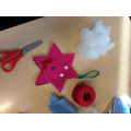 Christmas decorations in Year 5
